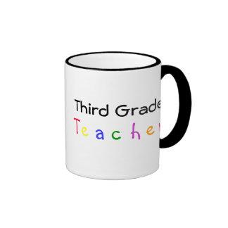 Tercera taza del profesor del grado