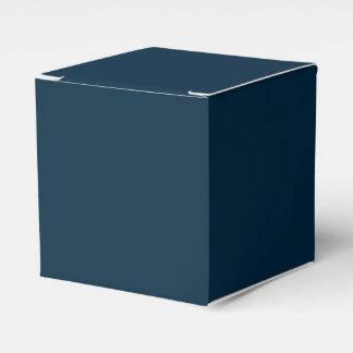 Terciopelo azul de medianoche cajas para regalos