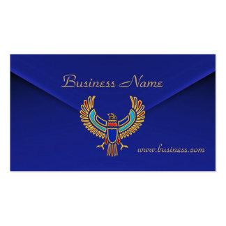 Terciopelo azul rico Eagle del negocio de la tarje Tarjetas De Visita