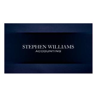 Terciopelo azul tarjetas personales