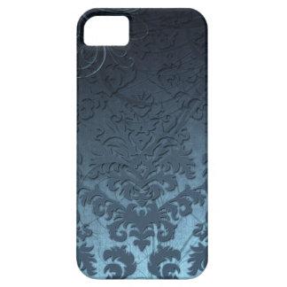 Terciopelo del corte del damasco, remolinos ostent iPhone 5 cobertura