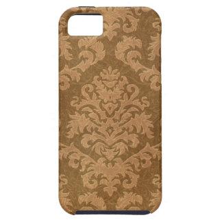 Terciopelo del corte del damasco, tapicería en som iPhone 5 funda