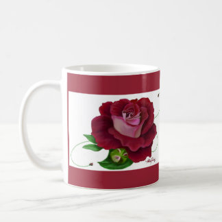 Terciopelo rojo taza clásica