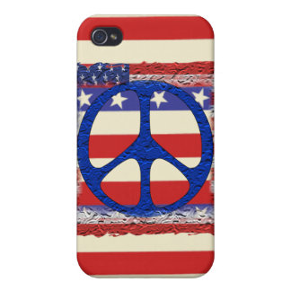 Tered Peace Flag iPhone 4/4S Case
