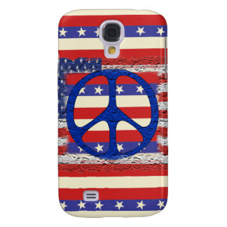 Tered Peace Flag Samsung Galaxy S4 Case