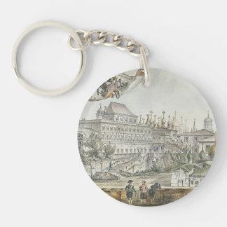 Terem Palace by Giacomo Quarenghi Single-Sided Round Acrylic Keychain