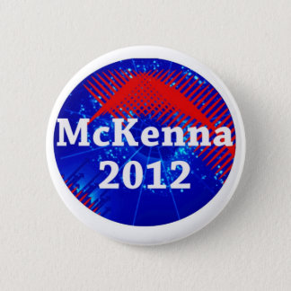 Terence McKenna 2012 Campaign Pinback Button