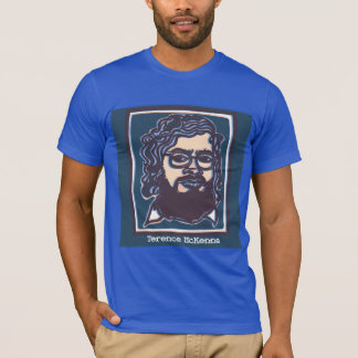 Terence McKenna tee by FacePrints