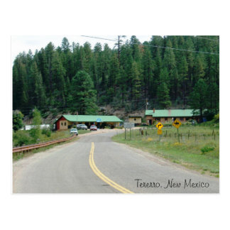Tererro, New Mexico Postcard