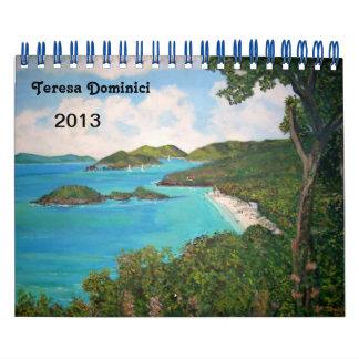 Teresa Dominici 2013 Calendar