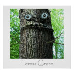 Teresa Green Tree Poster Print