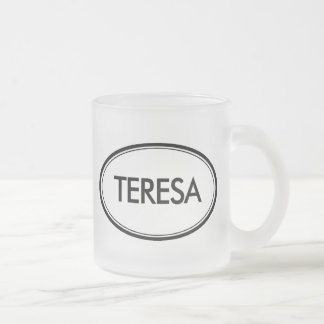 Teresa Taza Cristal Mate