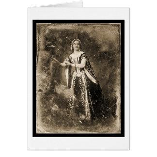 Teresa Truffi Daguerreotype 1848 Card