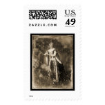 Teresa Truffi Daguerreotype 1848 Postage Stamp