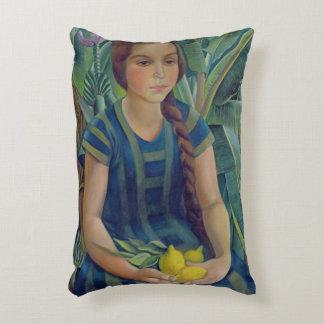 Teresina, 1925 accent pillow
