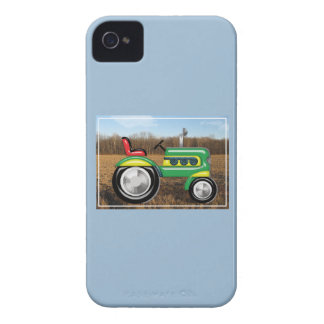 Teriffic Green Tractor in the Fields iPhone 4 Cover