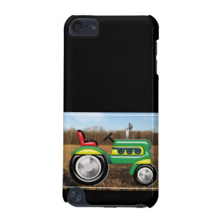 Teriffic Green Tractor in the Fields iPod Touch 5G Cases