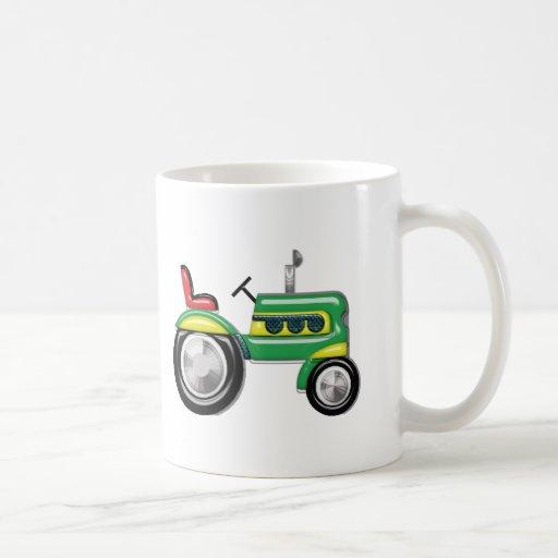 Teriffic Tractor Classic White Coffee Mug