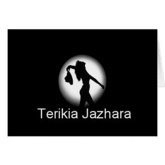 TerikiaJazhara Greeting Card