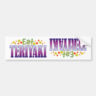 Teriyaki Eat Bumper Sticker