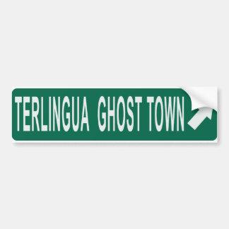 Terlingua Pegatina De Parachoque