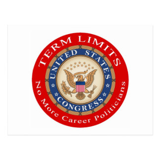Term Limits Postcard