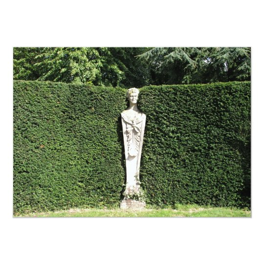 'Term' statue at Chiswick House Chiswick London UK Card