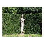 'Term' statue at Chiswick House Chiswick London UK Postcard