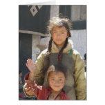 Terma Foundation Blank Notecard- children Greeting Card