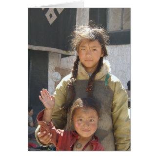 Terma Foundation Blank Notecard- children Card