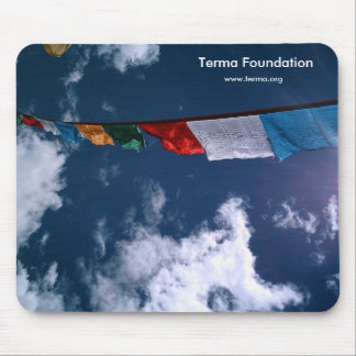 Terma Foundation Prayer Flag Mouse Pad