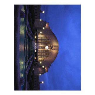 Terminal de la unión de Cincinnati Membretes Personalizados