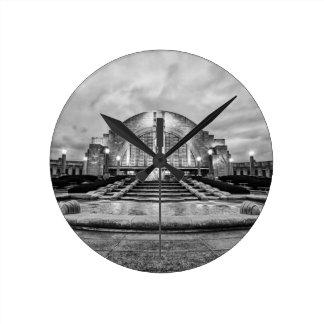 Terminal de la unión de Cincinnati Reloj De Pared