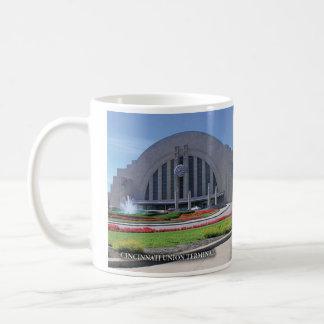Terminal de la unión de Cincinnati Tazas De Café