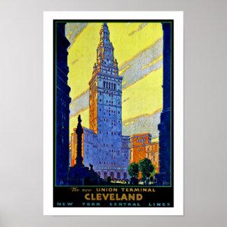 Terminal de la unión del ~ de Cleveland Impresiones