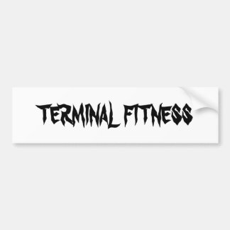 TERMINAL FITNESS BUMPER STICKER