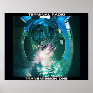 Terminal Radio Transmission One Poster