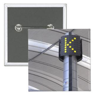 Terminal Sign, Toronto Pearson International Button