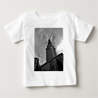 Terminal Tower in Black and White Infant T-shirt