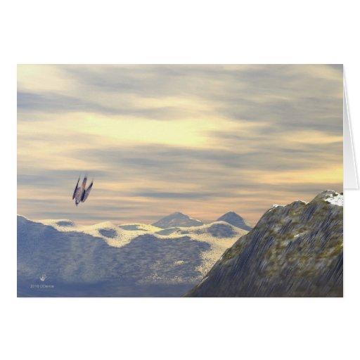 Terminal Velocity Peregrine Falcon Cards