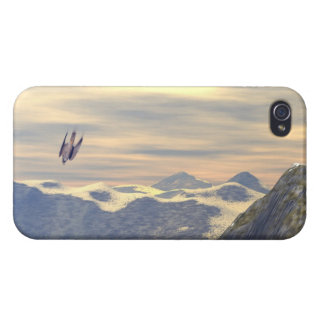 Terminal Velocity Peregrine Falcon iPhone 4 Covers