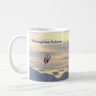 Terminal Velocity Peregrine Falcon Coffee Mugs