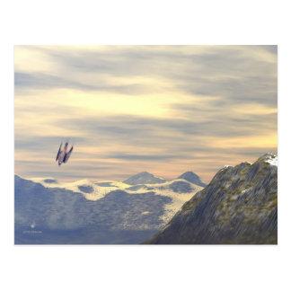 Terminal Velocity Peregrine Falcon Postcard