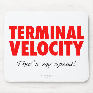 Terminal Velocity Skydiver Mouse Pad