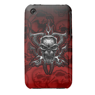 Terminator Skull Barely There iPhone 3 GS Case Case-Mate iPhone 3 Cases