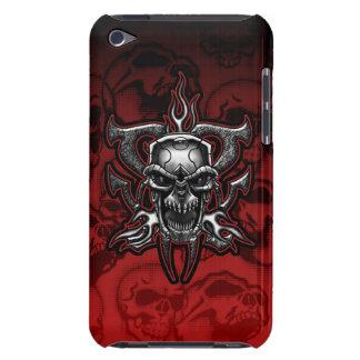 Terminator Skull Illustrated Chrome Skeleton iPod Touch Cover