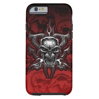 Terminator Skull Metal Illustration Tough iPhone 6 Case