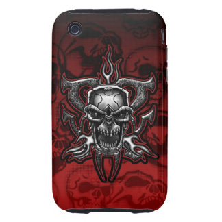 Terminator Skull Tough iPhone 3 GS Case iPhone 3 Tough Covers