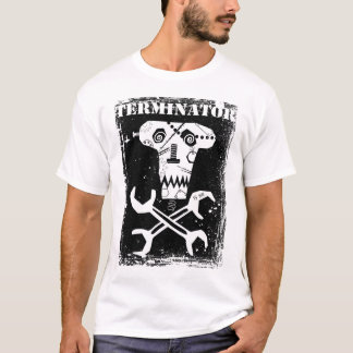 terminator skulls design T-Shirt