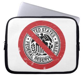 Termine al libertario de FED Federal Reserve Manga Computadora
